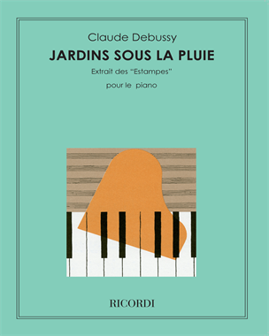 """Jardins sous la pluie (extrait des """"Estampes"""") - Pour le piano"""