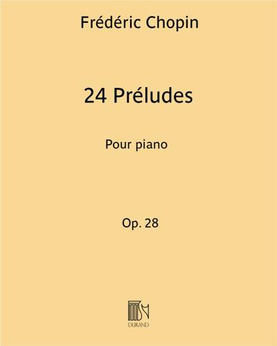 24 Préludes Op. 28