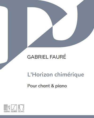 L'horizon chimérique Op. 118