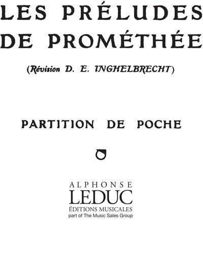 Les Préludes de Prométhée Op. 82