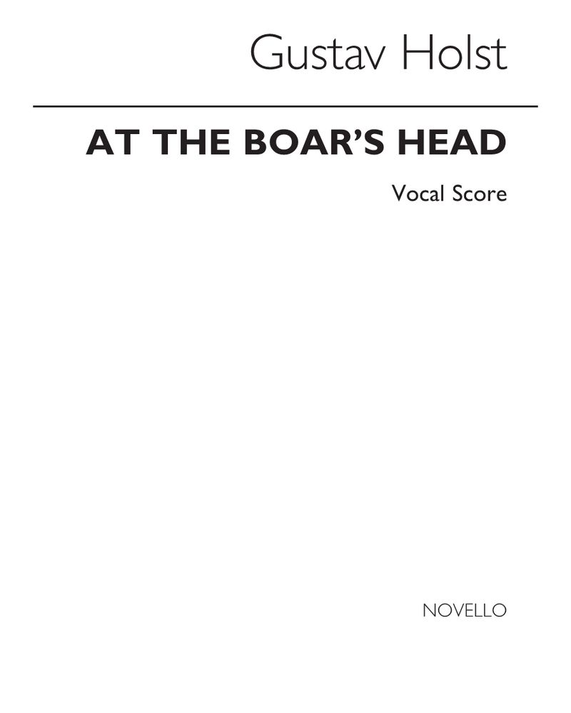 At the Boar's Head, Op. 42