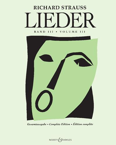 Lieder, Vol. 3