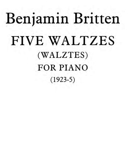 Five Waltzes