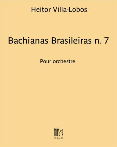 Bachianas Brasileiras n. 7