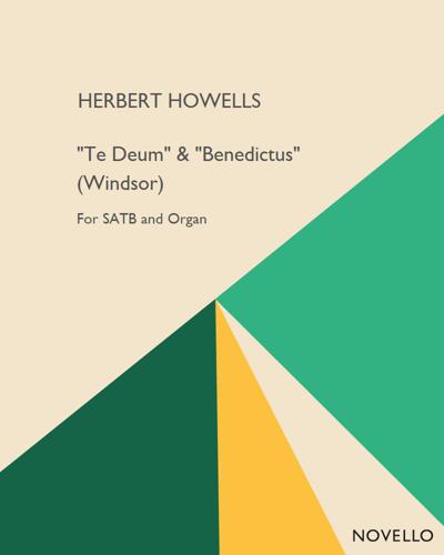 """""""Te Deum"""" & """"Benedictus"""" (Windsor)"""