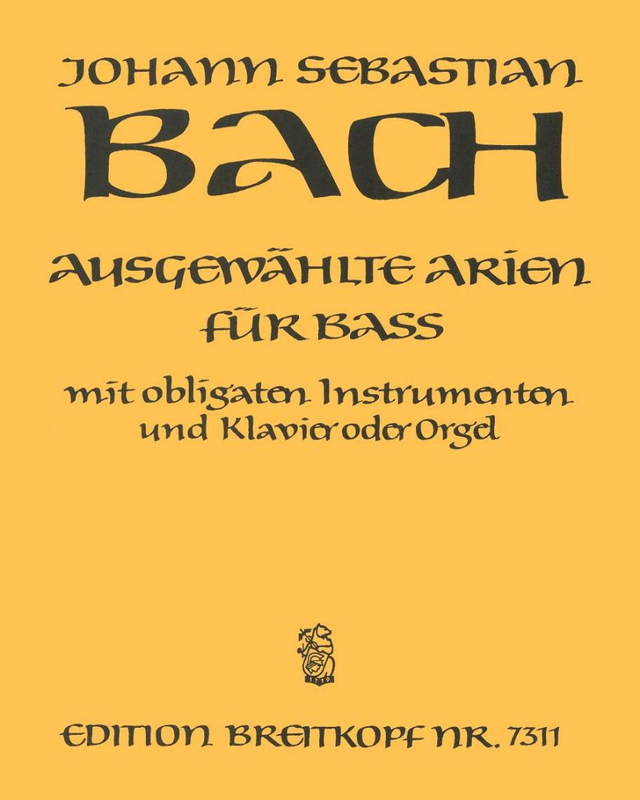 Ausgewählte Arien für Bass