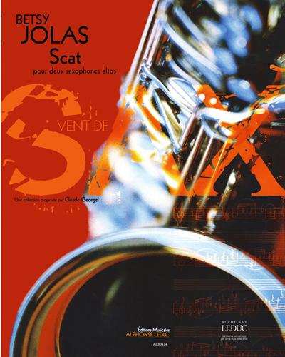 Scat pour Deux Saxophones Altos
