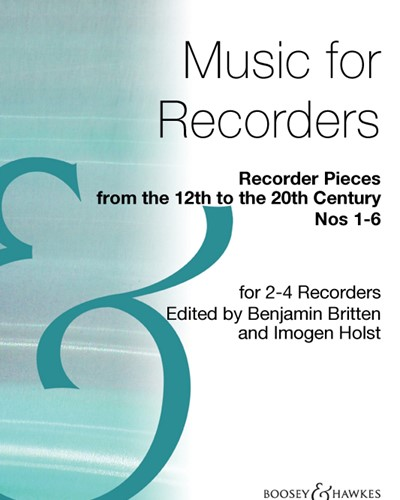 Recorder Pieces from the 12th to the 20th Century