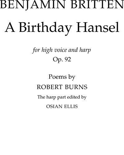 A Birthday Hansel