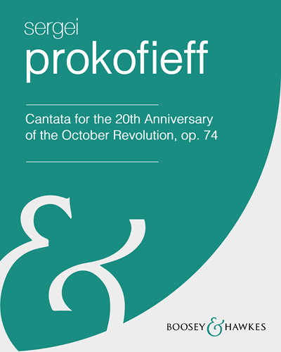 Cantata for the 20th Anniversary of the October Revolution, op. 74