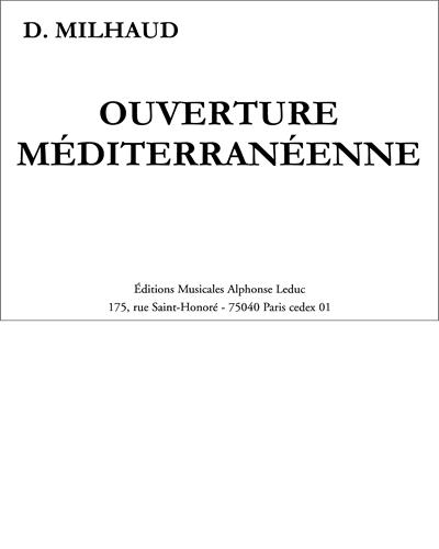 Ouverture Méditerranéenne