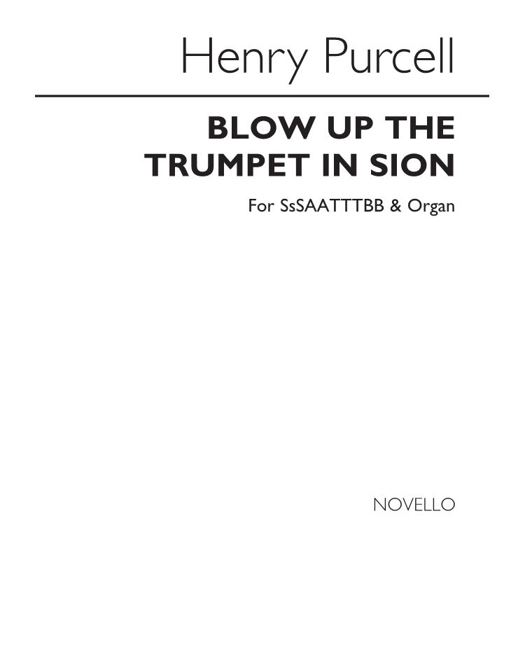 Blow up the trumpet in Sion