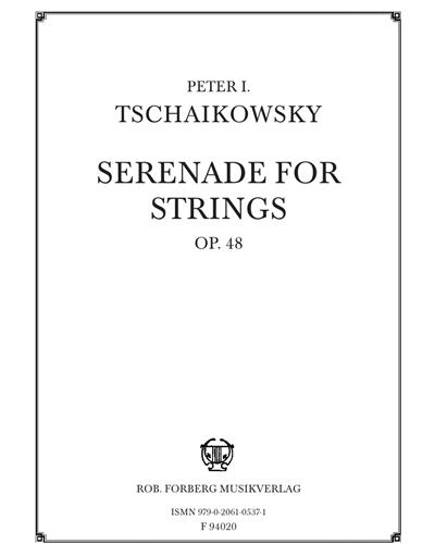 Serenade for Strings Op. 48