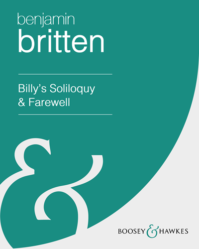 """Billy's Soliloquy & Farewell (From """"Billy Budd"""")"""