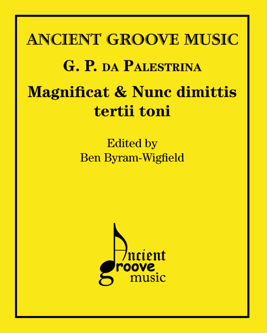 Magnificat & Nunc dimittis tertii toni
