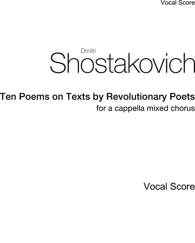 Ten Poems on Texts by Revolutionary Poets