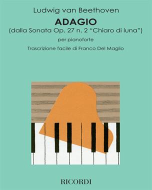 """Adagio (dalla Sonata Op. 27 n. 2 """"Chiaro di luna"""")"""