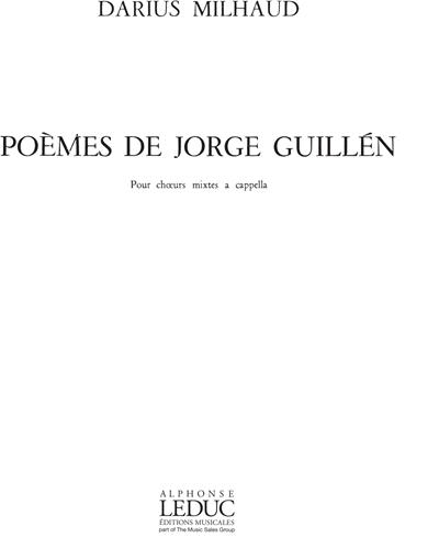 Poèmes de Jorge Guillén, Op. 371