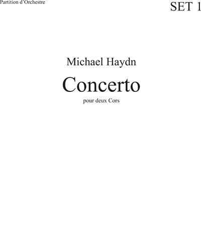 Concerto In Es Pour 2 Cors