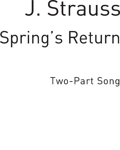 Spring's Return (Wein, Weib und Gesang)