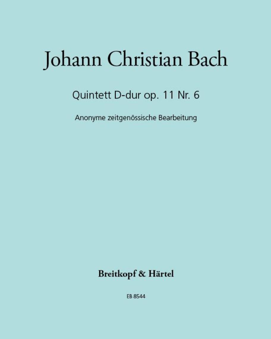 Quintett D-dur op. 11 Nr. 6