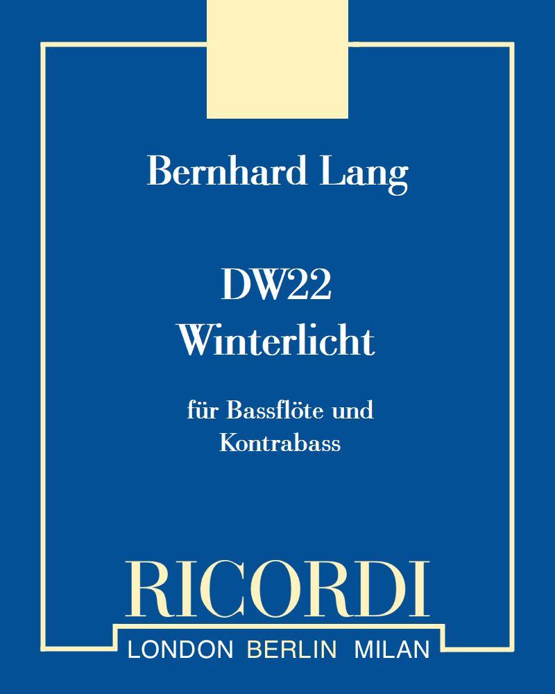 """DW 22 """"Winterlicht"""""""