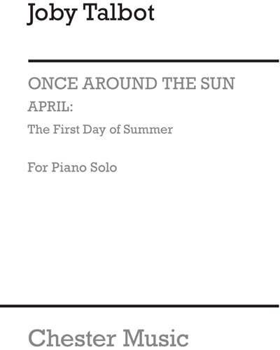 April: The First Day of Summer (for Piano Solo)