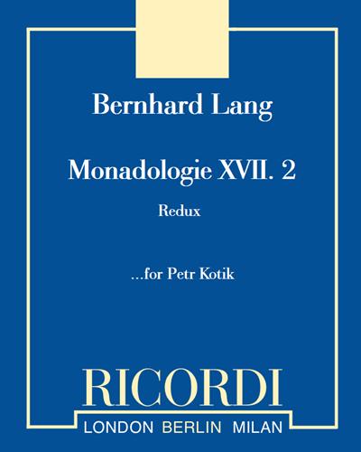 """Monadologie XVII. 2 """"Redux"""""""