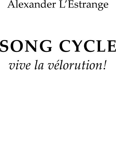 Song Cycle - Vive La Vélorution