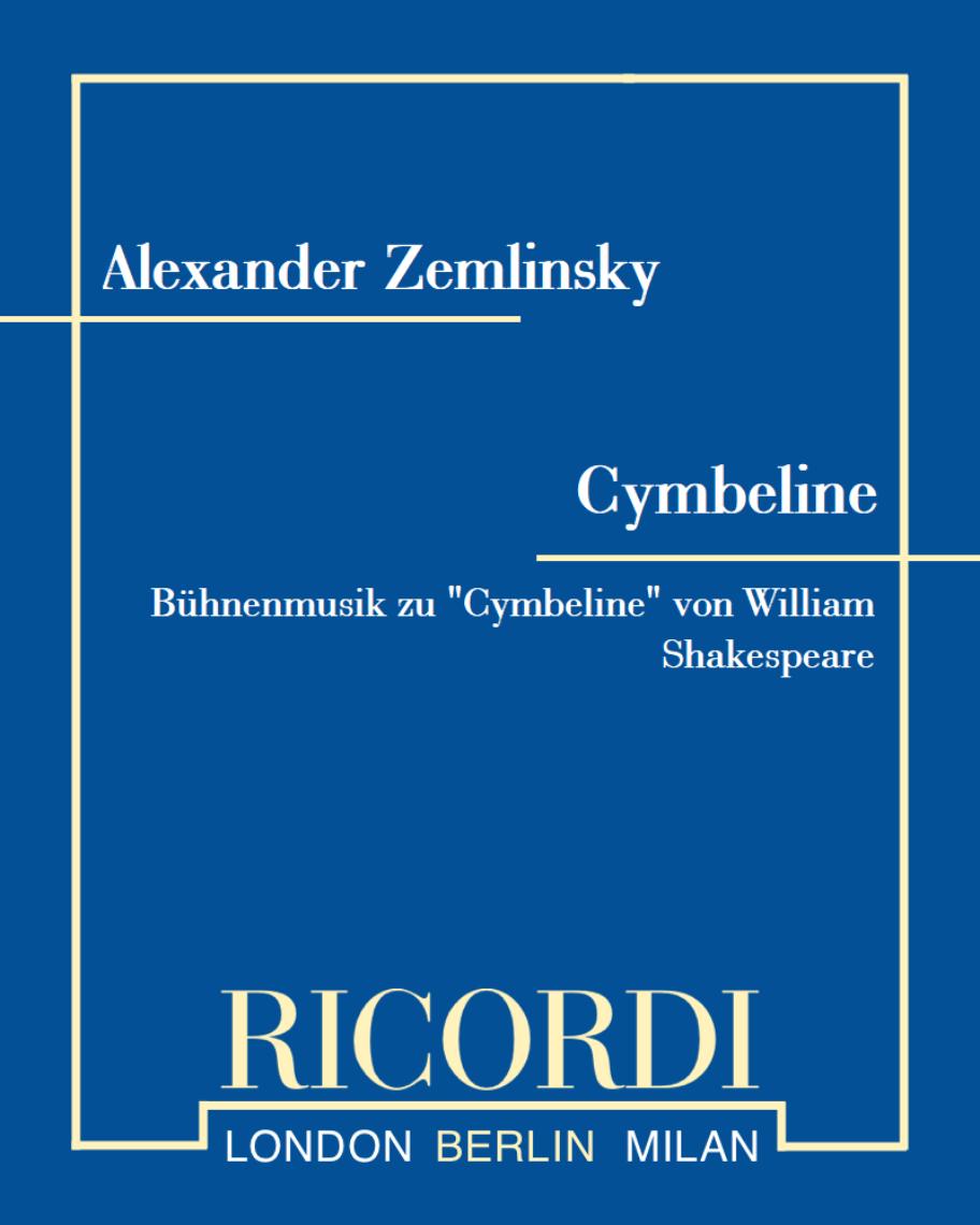 Cymbeline (Anhang)
