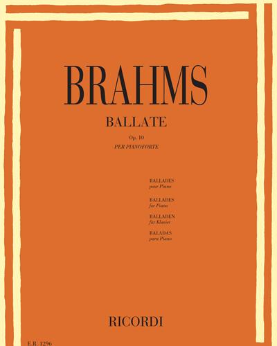 Ballate Op. 10