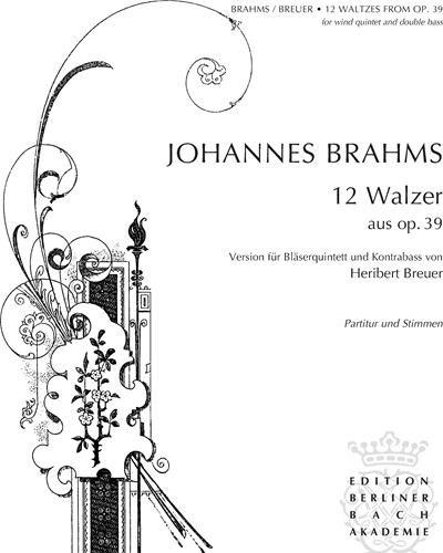 12 Waltzes, op. 39
