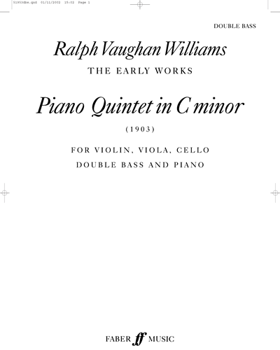 Piano Quintet in C minor