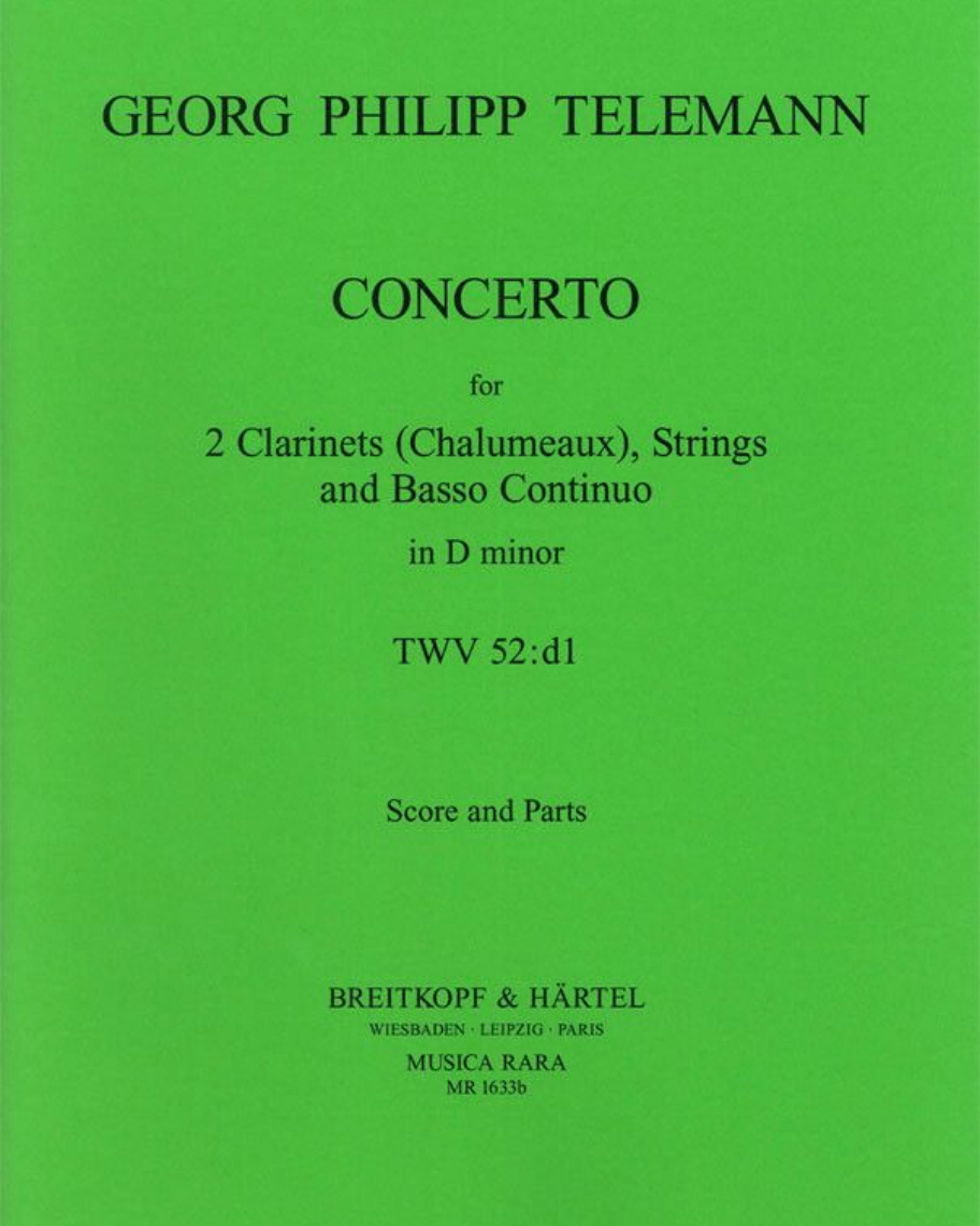 Concerto d-moll TWV 52:d1