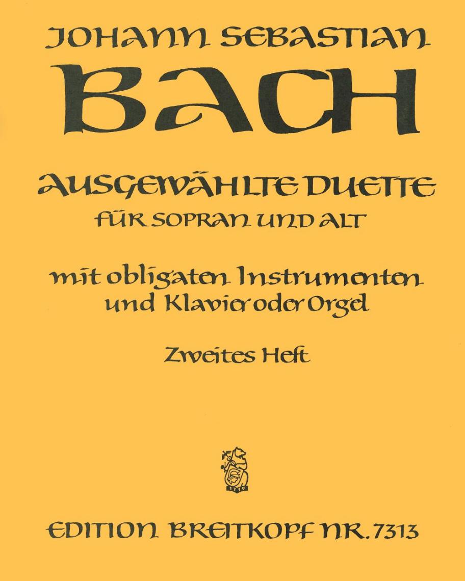 Ausgewählte Duette für Sopran und Alt - Heft 2