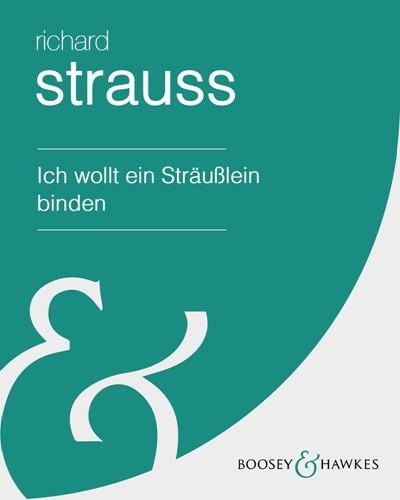 """Ich wollt ein Sträußlein binden (from """"Six Songs"""")"""