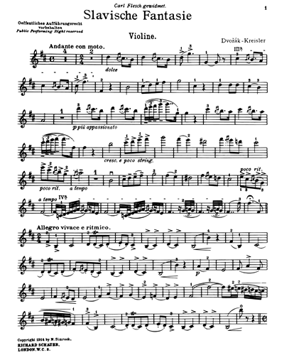 Slavonic Fantasy (in B minor)