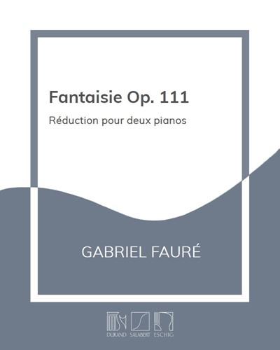 Fantaisie Op. 111 - Réduction pour deux pianos