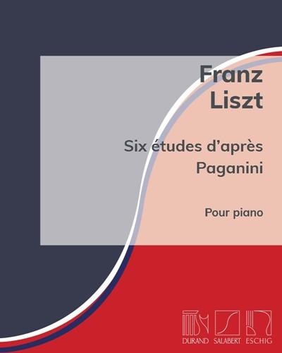 Six études d'après Paganini