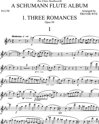 A Schumann Flute Album