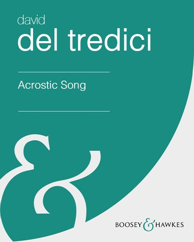 Acrostic Song; arr.
