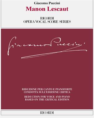 Manon Lescaut [Critical Edition]