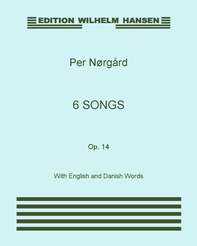 6 Songs, Op. 14