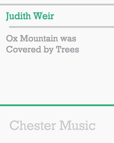 Ox Mountain was Covered by Trees