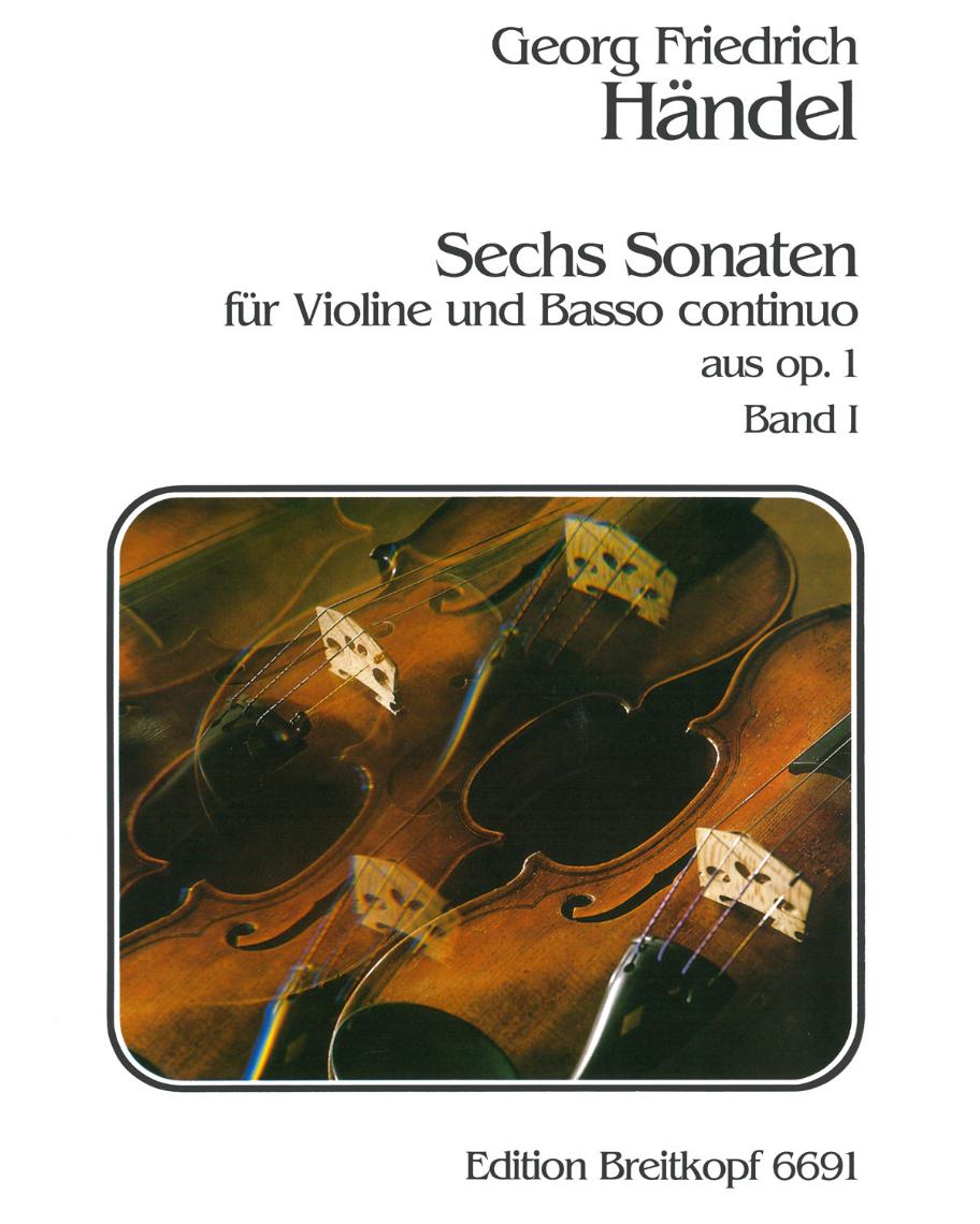 6 Sonaten op. 1 - Heft 1