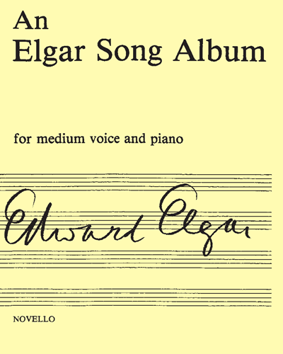 An Elgar Song Album
