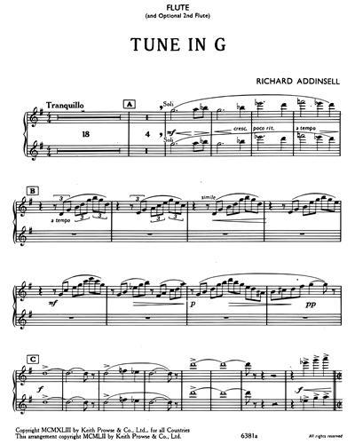Tune In G
