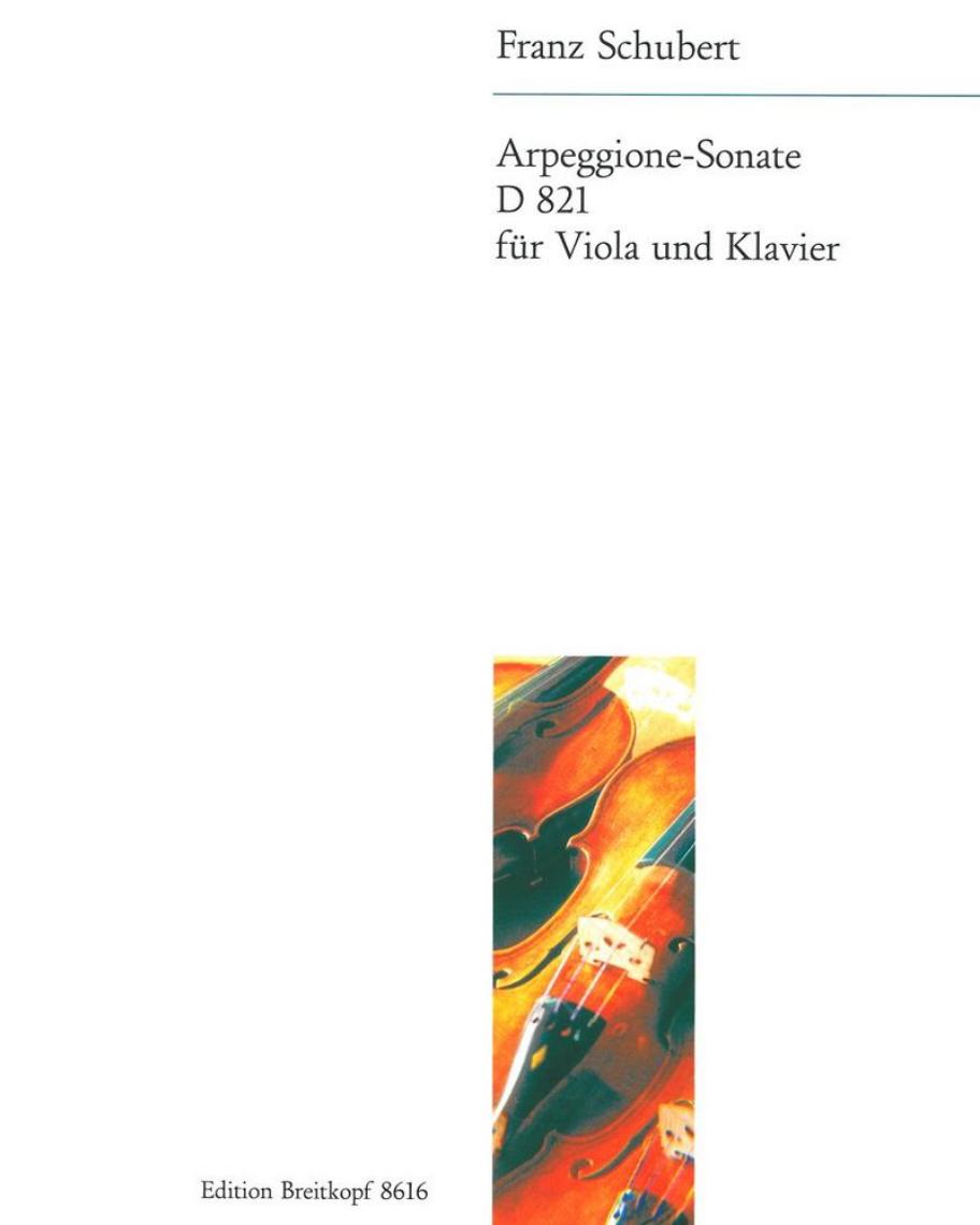 Arpeggione-Sonate a-moll D 821