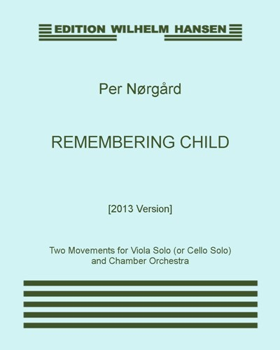 Remembering Child [2013 Version]