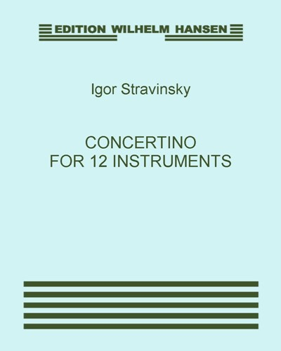 Concertino for 12 Instruments